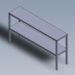 Upper Shelf For Table Double