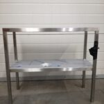 Upper shelf for table double